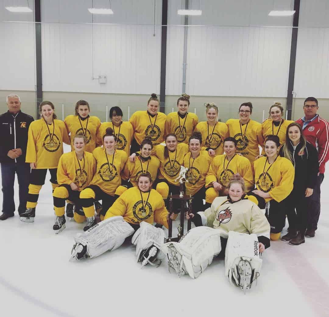Midget Female Atlantic Hockey Group