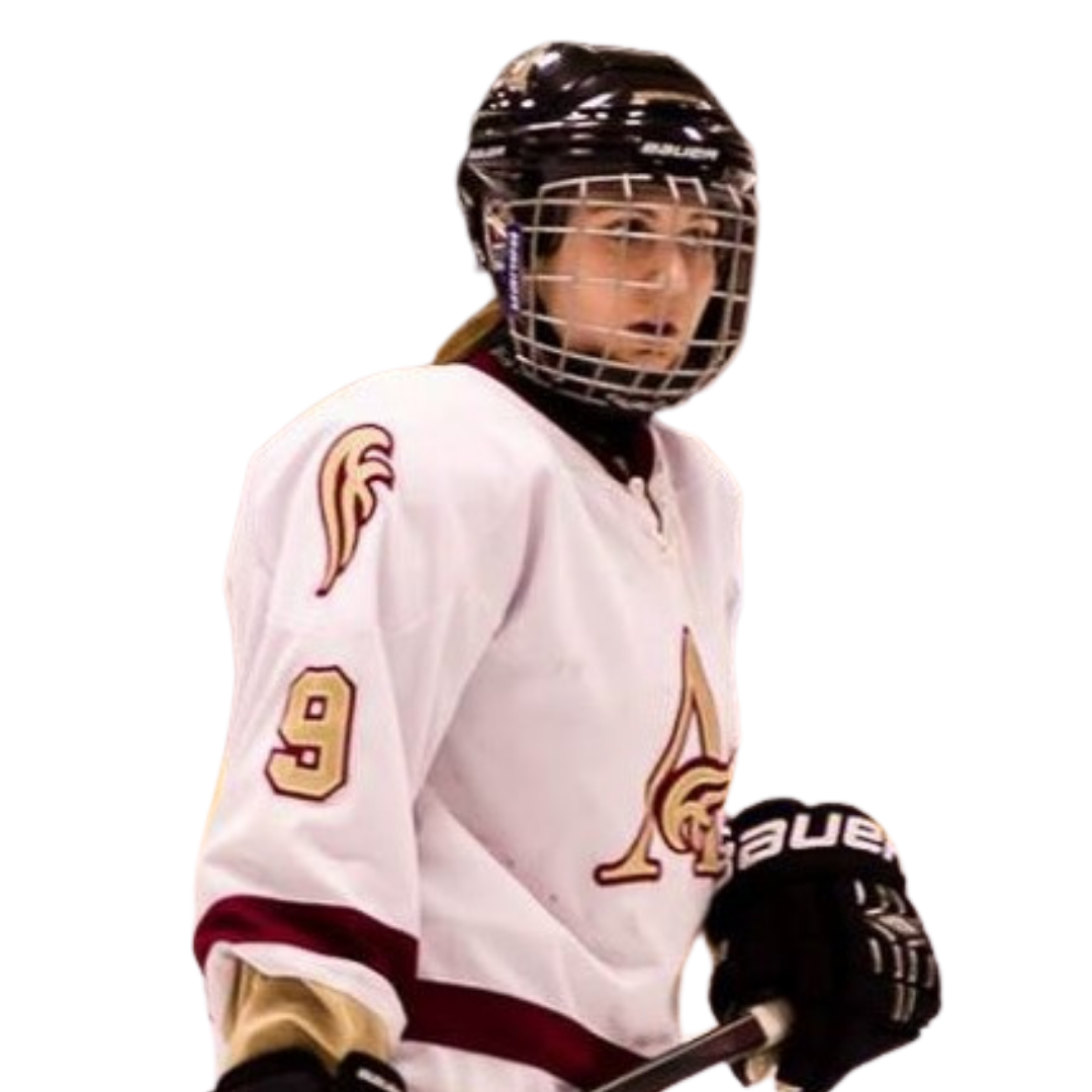 Former Prep School hockey player who also played AUS for the Mount Allison Mounties
